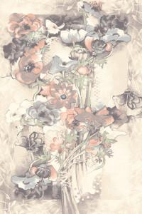 Dywan Agnella Isfahan Walencja Piaskowy