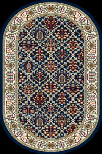 Dywan Agnella Standard Tamir Granat Owal