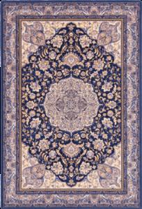 Dywan Agnella Isfahan Hathor Ciemny Niebieski